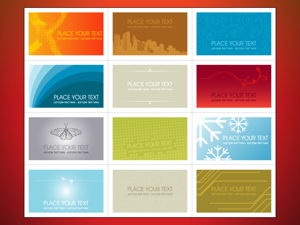Free printable business cards design templates thepixelpedia for Business card designs templates