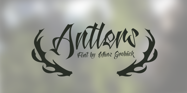 antlers-font
