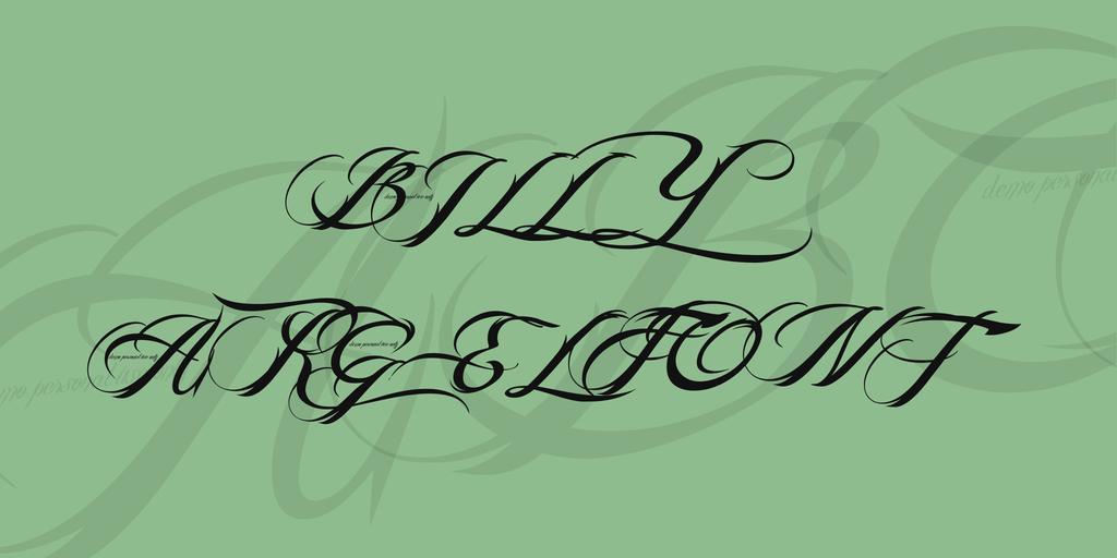 billy-argel-font