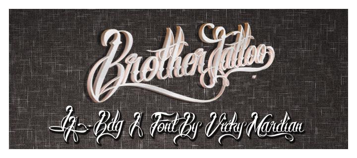 brother-tattoo-font