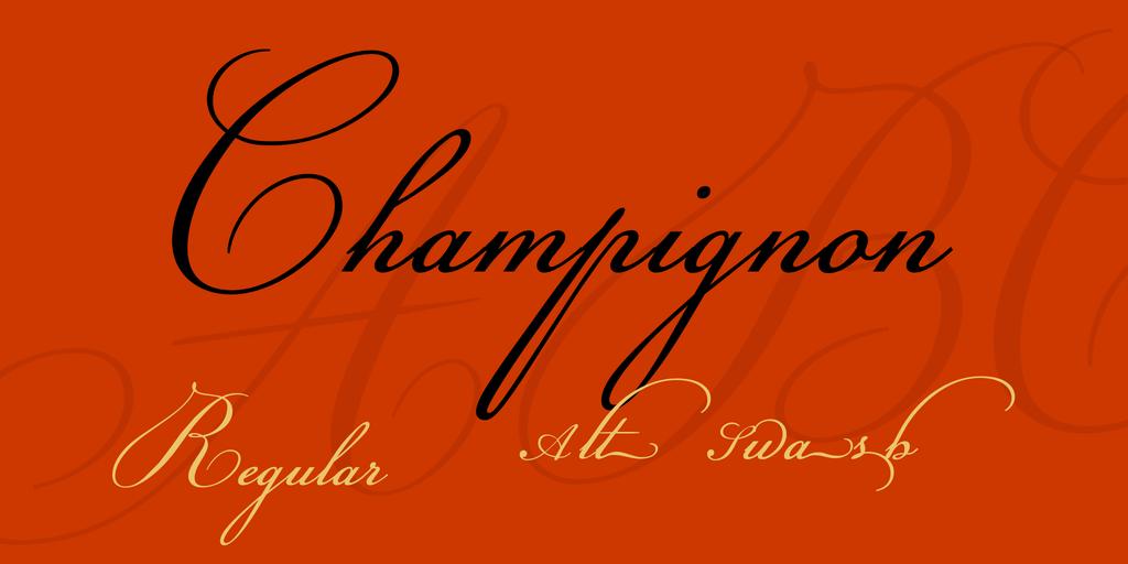 champignon-font