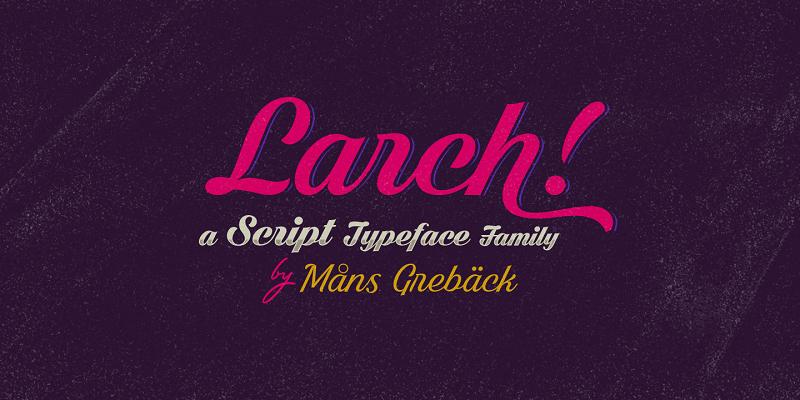 dark-larch-font