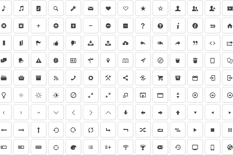 fontello-icon-set