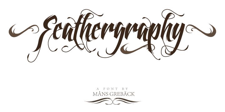 feathergraphy-decoration-font