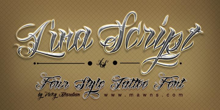 lina-script-font