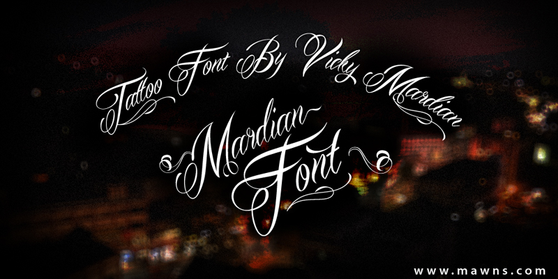 mardian-demo-font