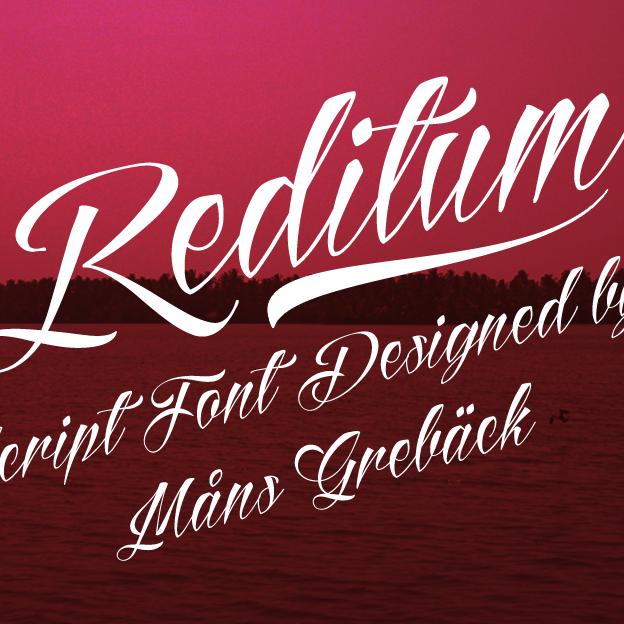 reditum-tattoo-font