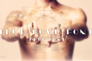 true-love-tattoo-font