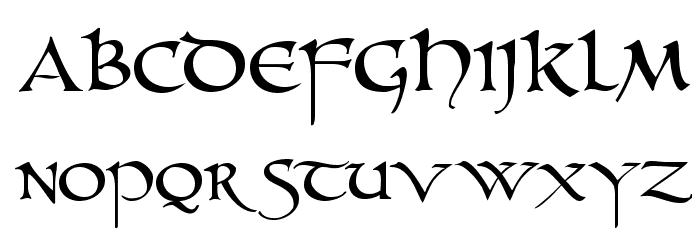 unzialish-font