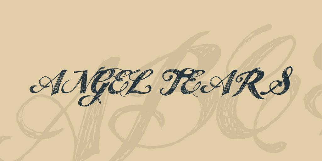 angel-tears-font