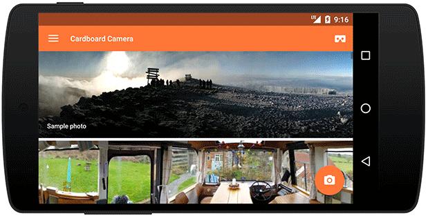 cardboard-camera-app