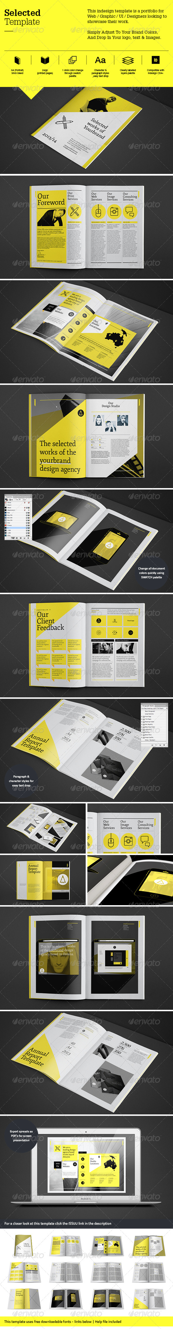 selected-brochure-template