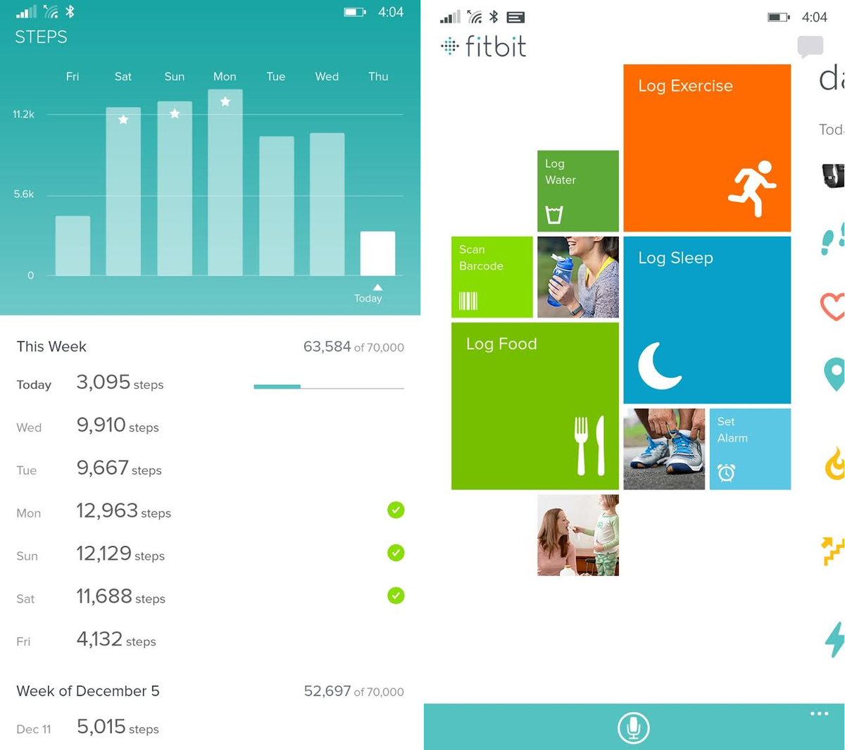 Best Food Tracker App With Fitbit