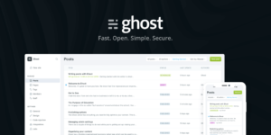 Ghost best blog site