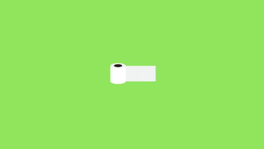 toilet paper- minimalist desktop wallpapers